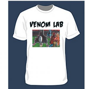Venom Lab- Hatest Grits T Shirt White