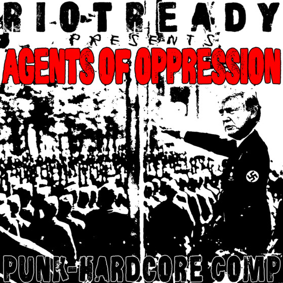 Agents of Oppression Front Cover 1400x1400